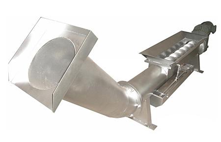 无轴螺旋压榨机
